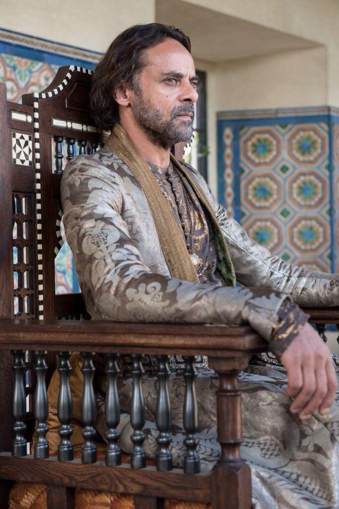 Alexander Siddig as Doran Martell. Game of Thrones season five