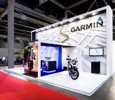 Standbouw Garmin Motorbeurs 2012 Eldee Expo Designers