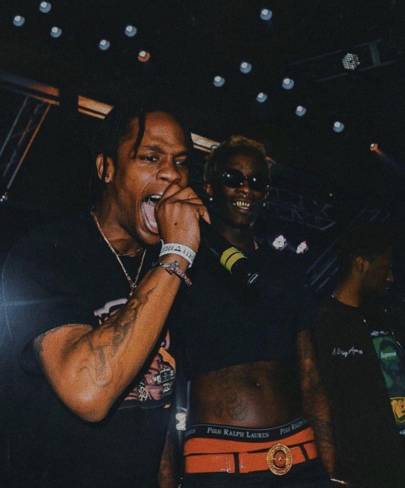 I Run It Like Nike We Got It On Lock Travis Scott Outfits Travis Scott Wallpapers Young Thug