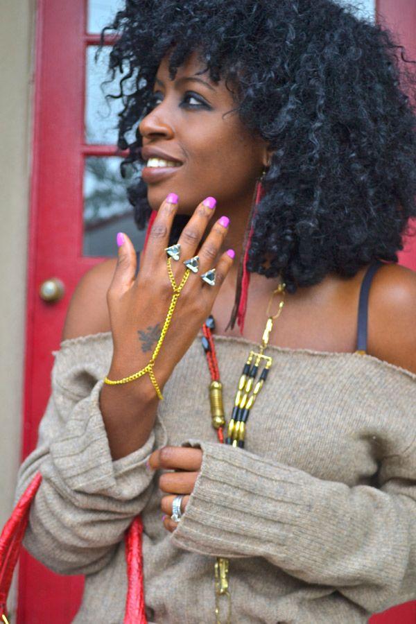 Love The Jewelry Love The Top Natural Hair Styles Beautiful Natural Black Hair Chiffon Maxi Skirt