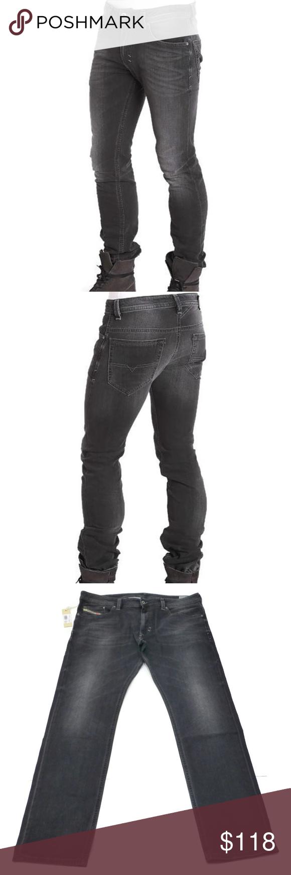 7d01261f Diesel Thavar Slim Skinny Stretch Jeans NWT Diesel Mens 38x30 Thavar Slim  Skinny Stretch Jeans 669F