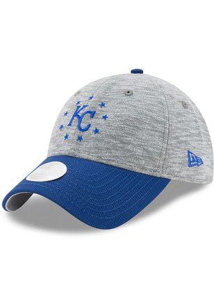 pretty nice 8384d 3b322 New Era Kansas City Royals Grey Cloud Crown Adjustable Hat