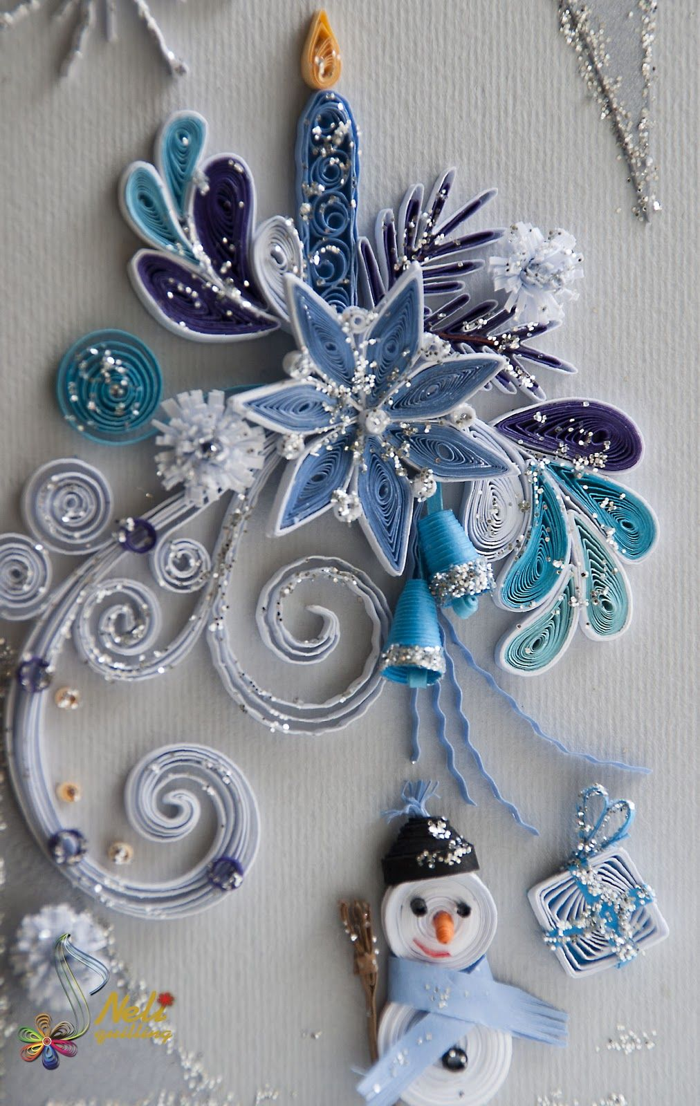 Christmas quilling vánoce pinterest quilling wall decorations
