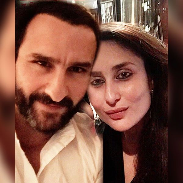 Kareena Kapoor Shares A Cute Selfie With Husband Saif Ali Khan Kareena Kapoor Karisma Kapoor Kareena Kapoor Khan
