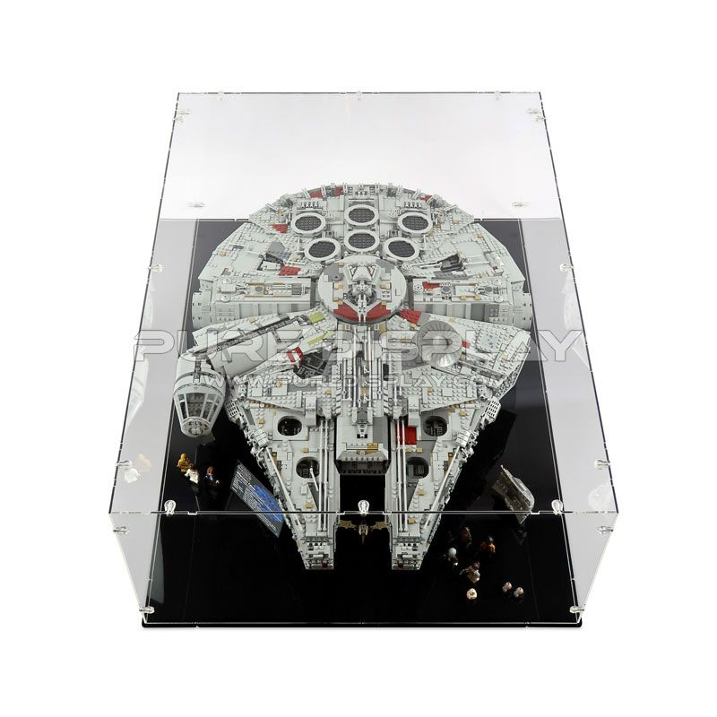 Lego 75192/10179 UCS Millennium Falcon Display Case | Stuff to buy ...