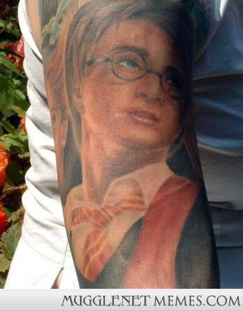 17 Harry Potter Tattoos From the World's Craziest Fans