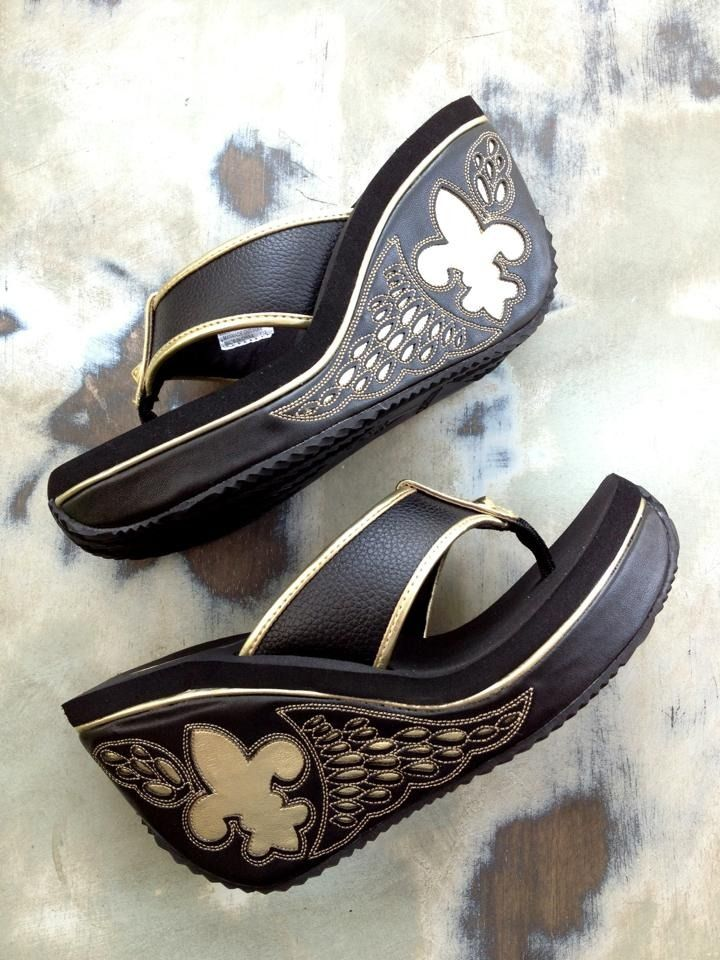 da7c698e2 Fleurty Girl - Everything New Orleans - Beignet Wedges by VOLATILE -  Footwear   Accessories