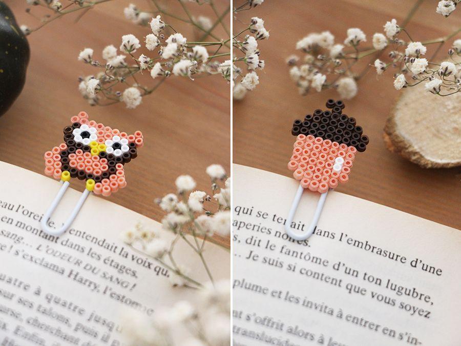 DIY : des marque-pages en mini-perles HAMA. - Je suis vernie