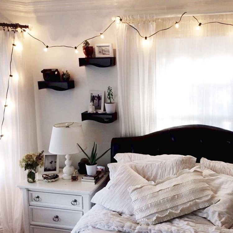 DIY Hipster Bedroom Decorations Ideas | Aesthetic room ...