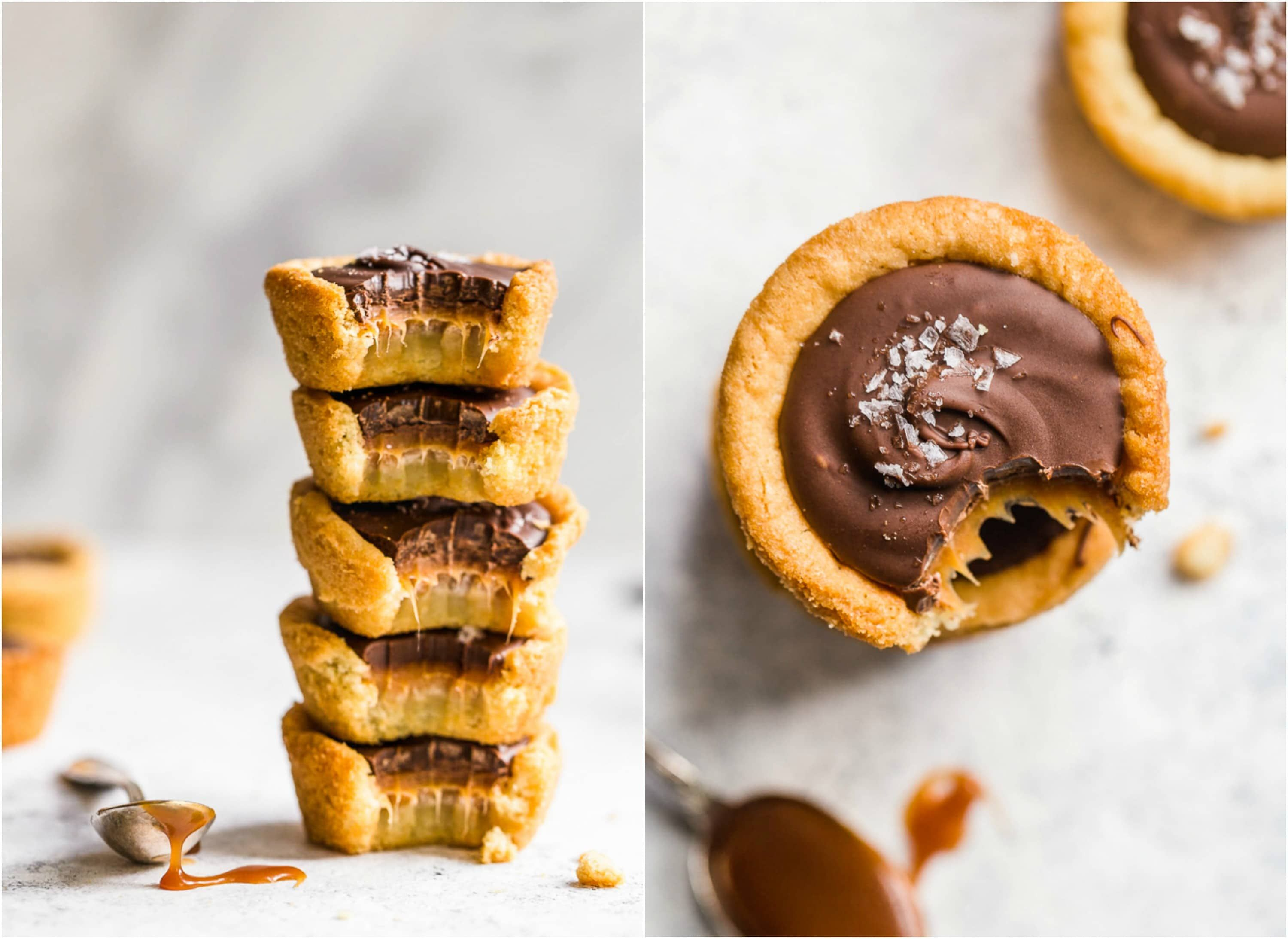 Twix Cookies - Twix Cookie Cups Recipe | The Cookie Rookie