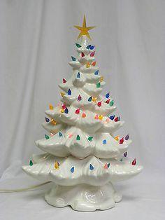 Pin On Ceramic Christmas Trees