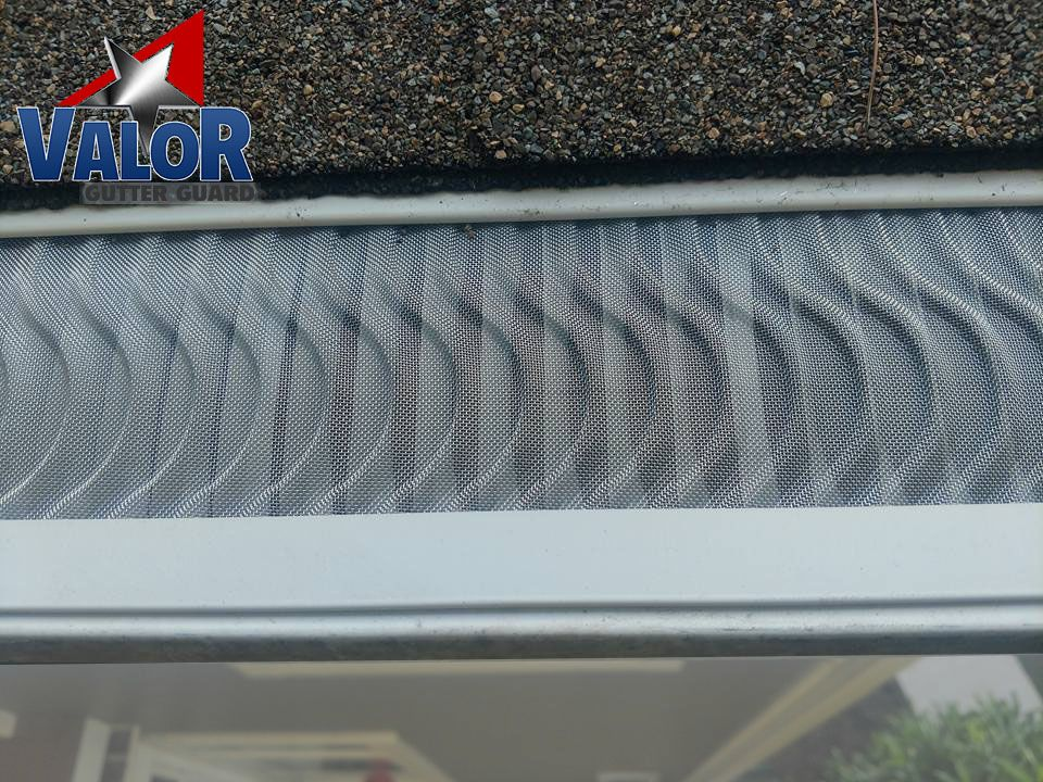 Check Out This Amazing Close Up Of Our Patented S Shape Design Of Valor Gutter Guards Gutter Guard Gutter Protection Gutter