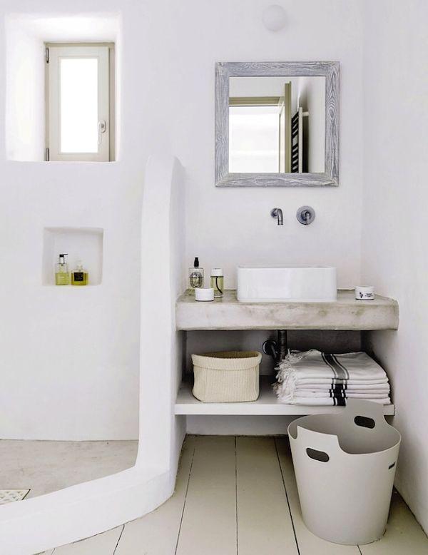 peque o paraiso en grecia ba o bathroom deco inspiration pinterest badezimmer b der. Black Bedroom Furniture Sets. Home Design Ideas