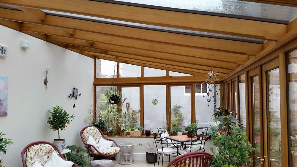 Lean To Garden Room Garden Room Gardenroom A Bespoke Wood Lean To Conservator In 2020 With Images Garden Room Lean To Conservatory Garden