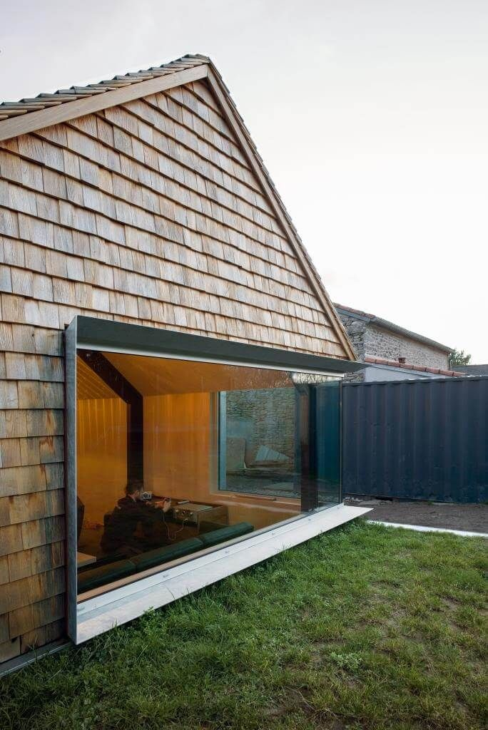 Mit Holz Bauen Mit Holz Heizen Anbau Gartenhaus