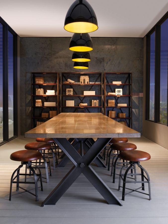 Roche Bobois Syntax Table 100cm X 240cm Modern Patio Furniture