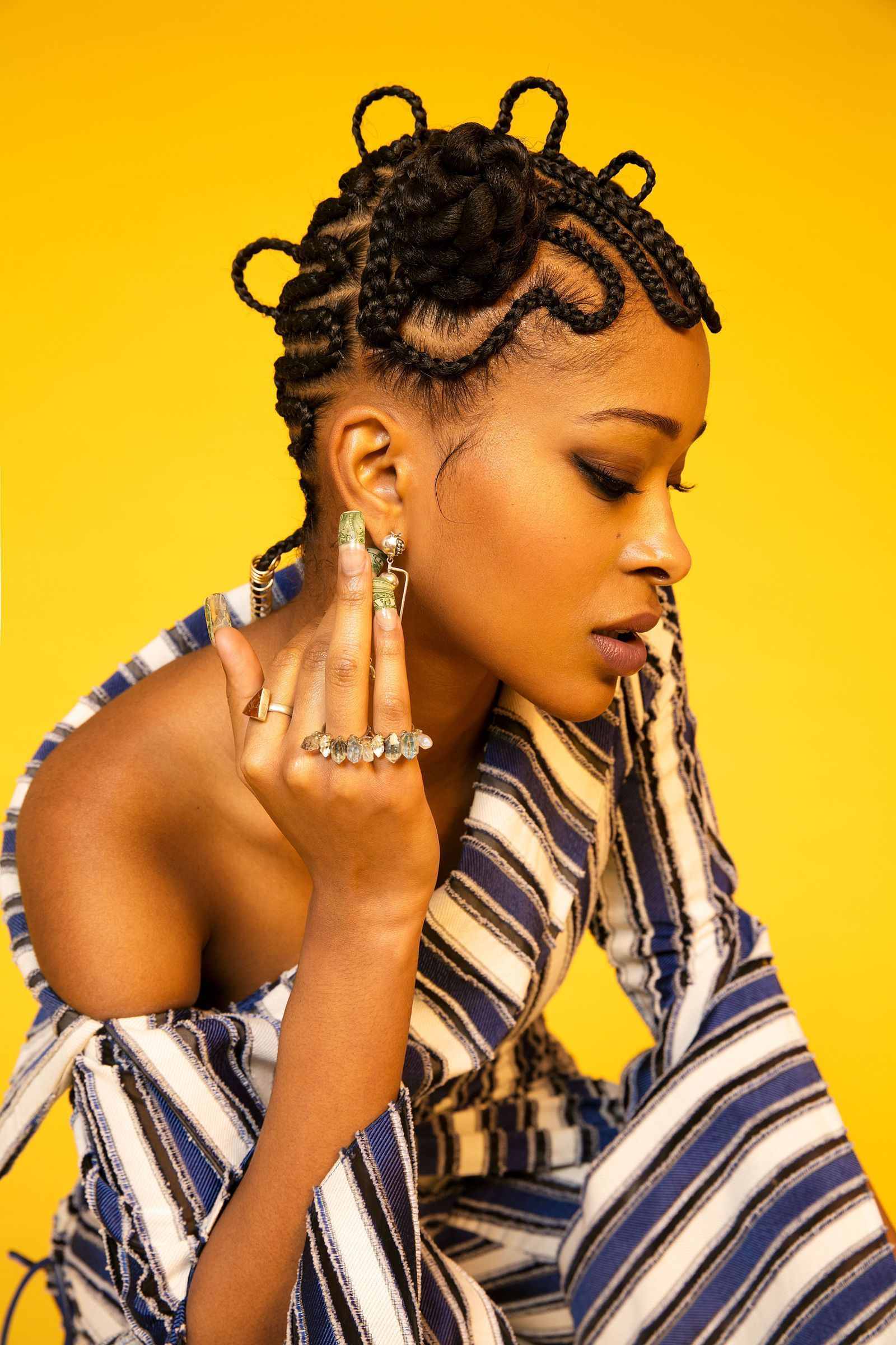 These Swaggy Maze Braids are Mesmerizingly Cool ...