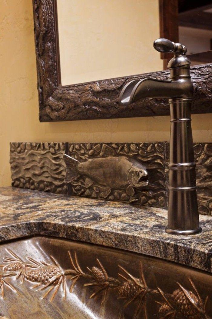 pareti-bagno-senza-piastrelle-pittura-color-tortora-lavabo-marmo ...