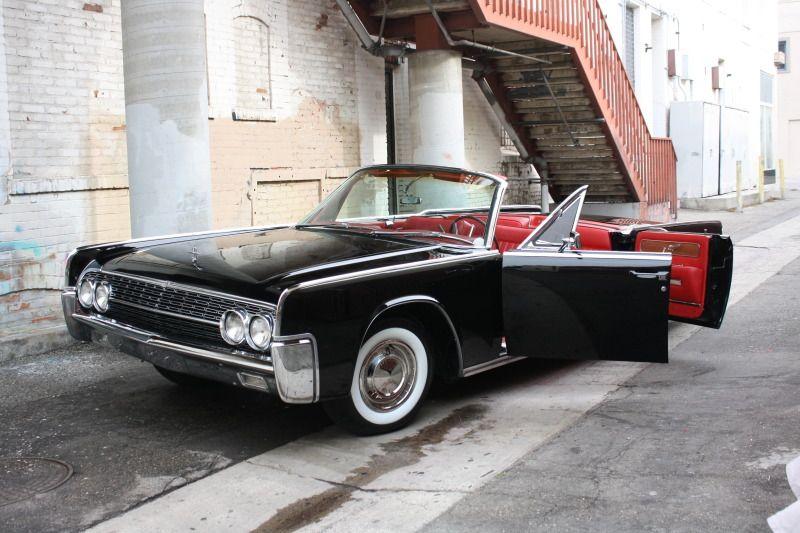 1962 Lincoln Continental Convertible Ferrari Red Interior Ah Dream Car