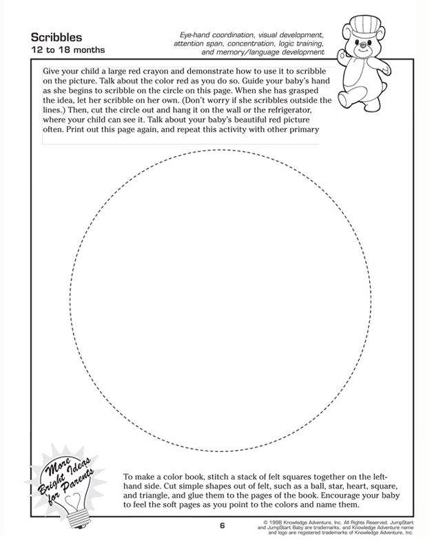 Scribbles - Free Fun and Printable Toddler Activity ...