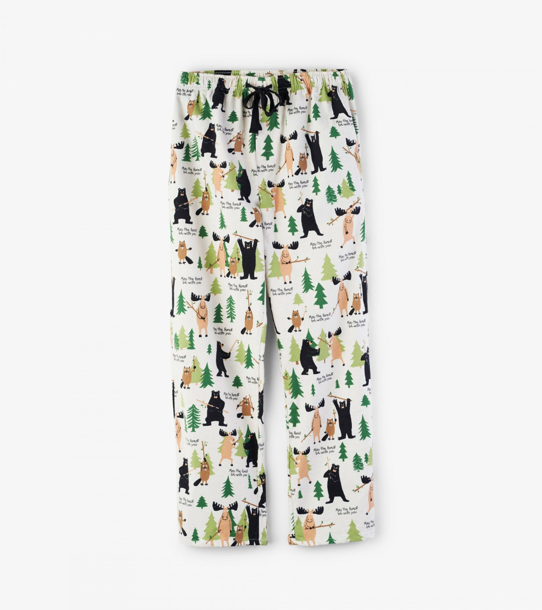May The Forest Be With You Flannel Pajama Bottom Hatley