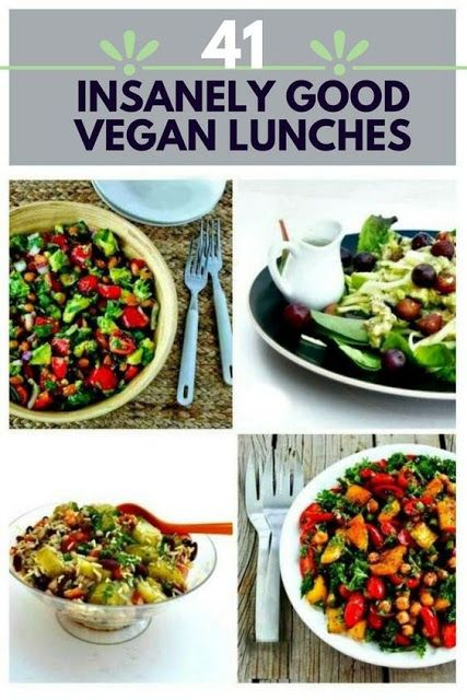 41 Insanely Good Vegan Lunches images