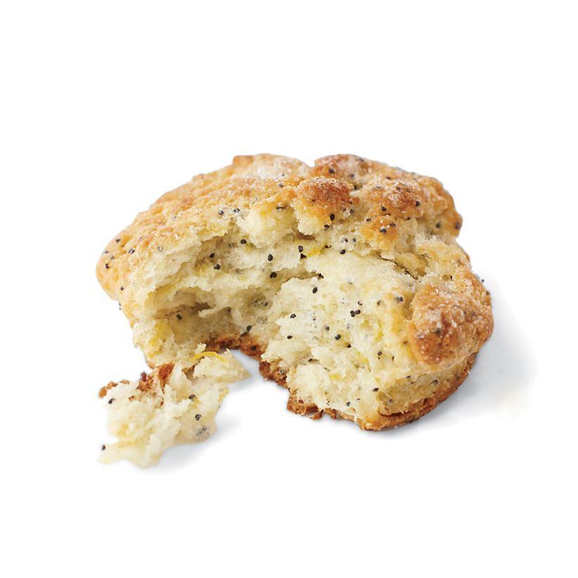 Sweet Lemon-Poppy Biscuits Recipe