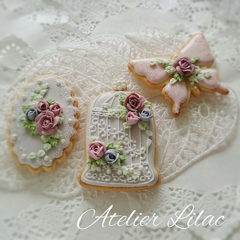 【私の作品集 Part 1♪】リクエストレッスンお申込みできます **Atelier Lilac ** …