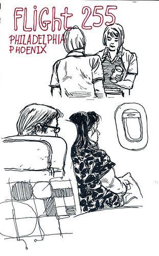 On Flight 255 to Philadelphia