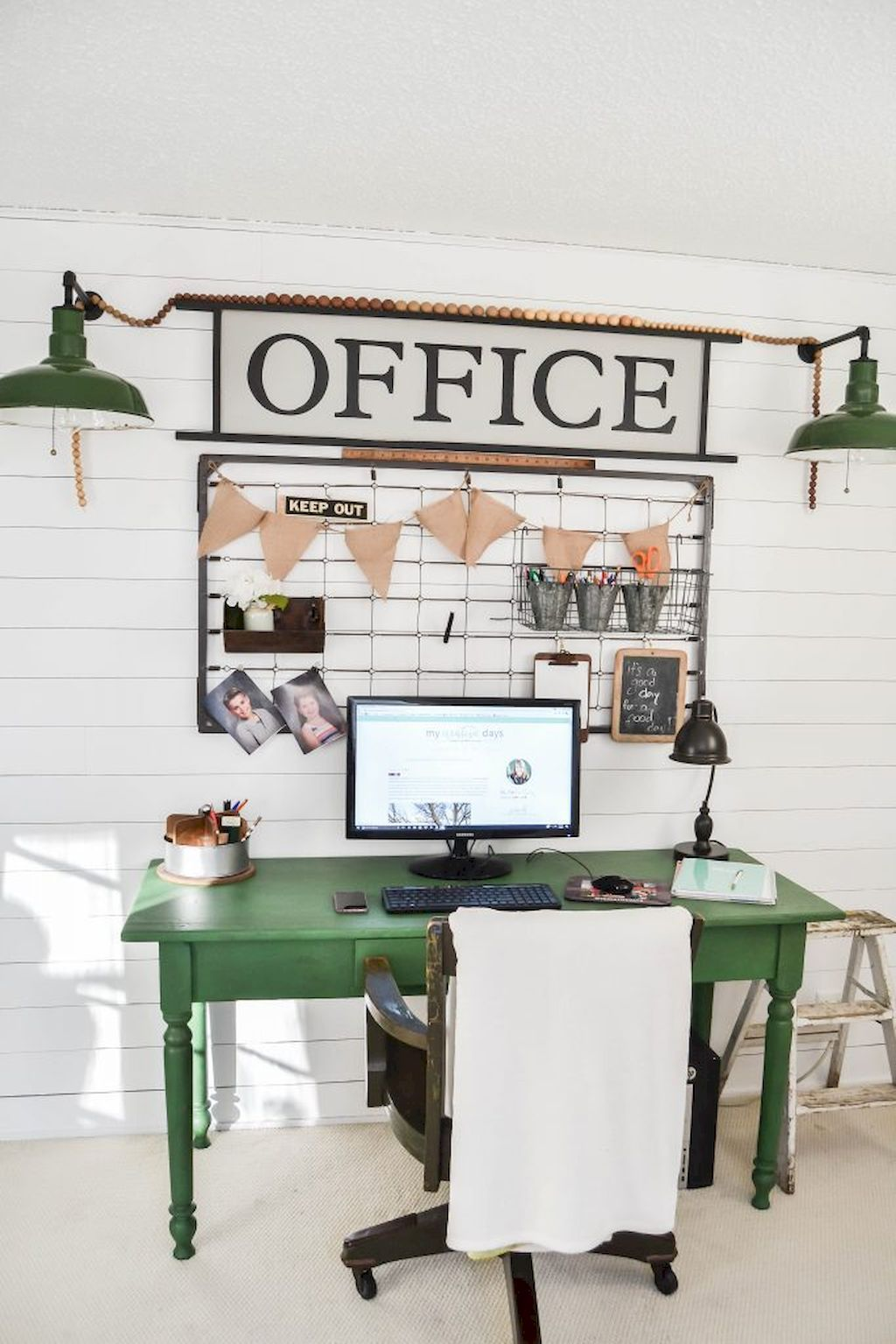 Exceptionnel 40 Easy Diy Farmhouse Desk Decor Ideas On A Budget (36)