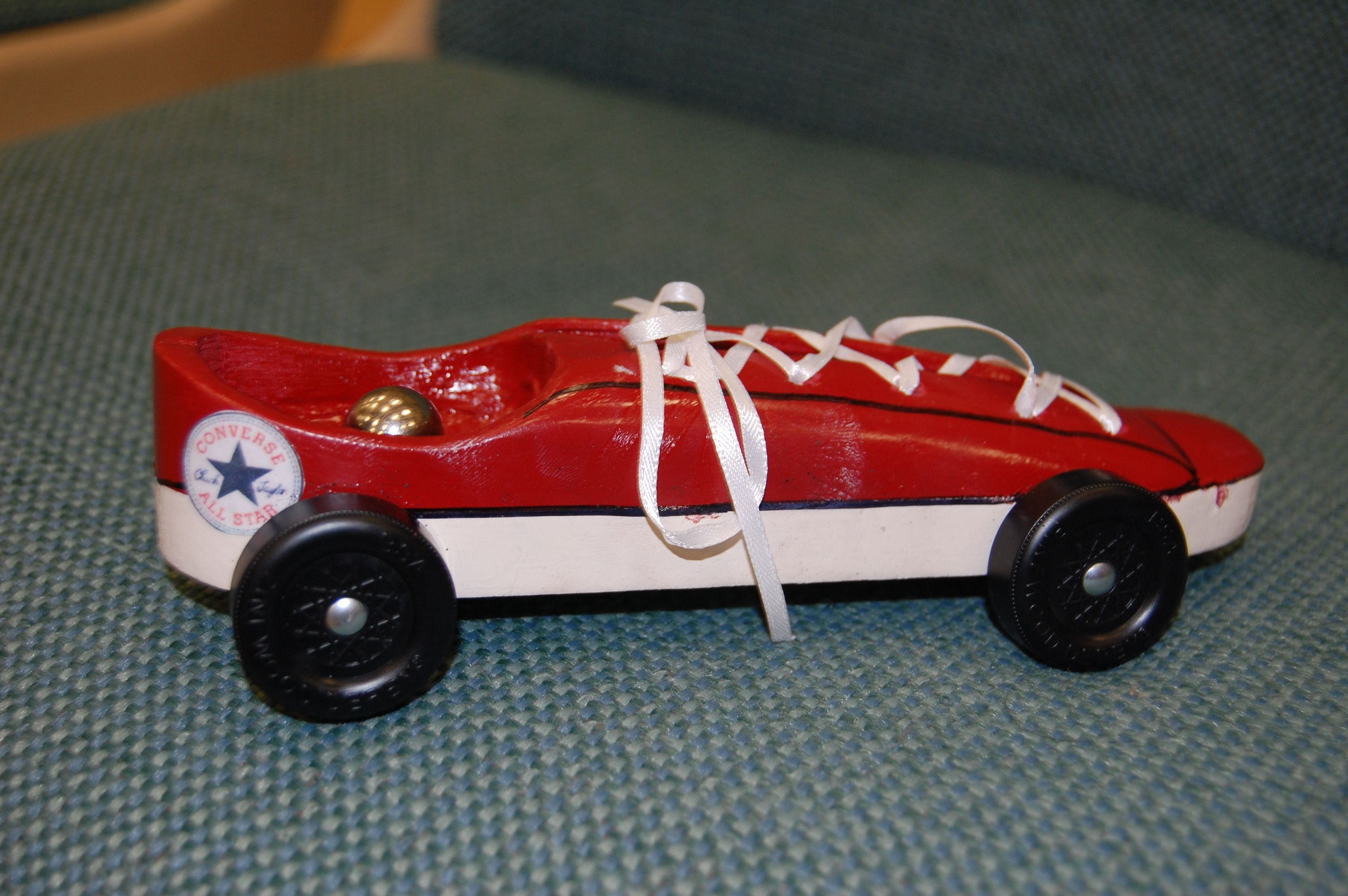 Converse Pinewood Derby Style | Scouts | Pinterest