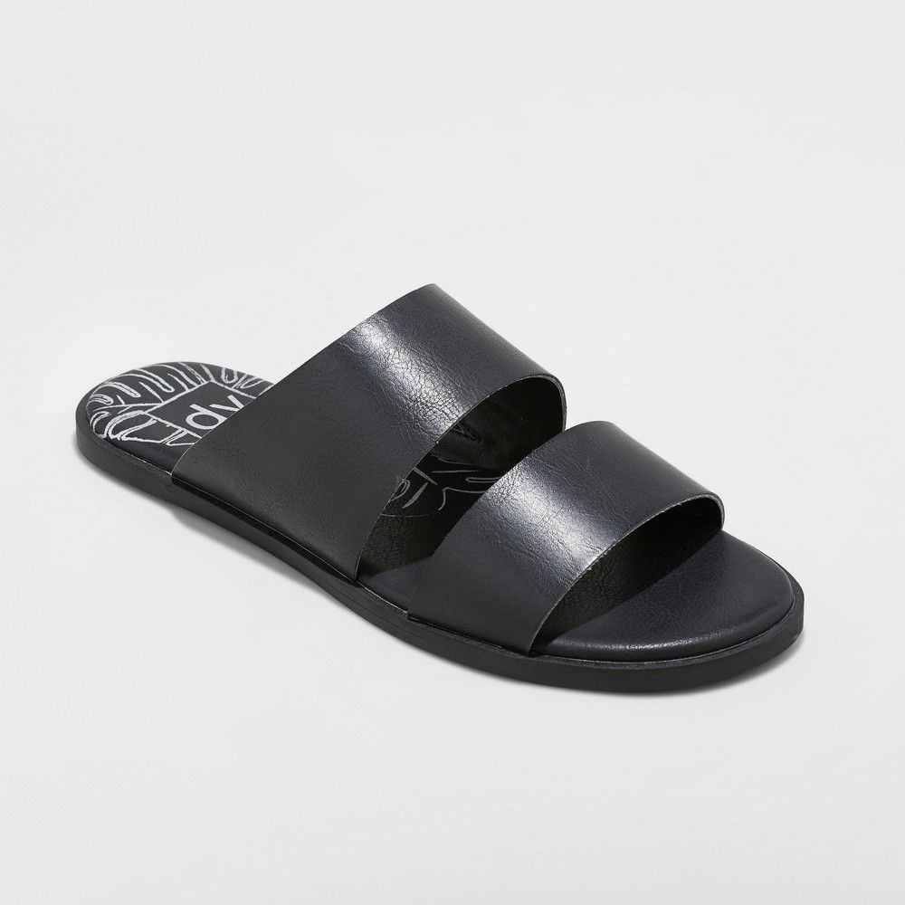 7bc7b3f2d Women s dv Kylisa Two Band Slide Sandal - Black 6