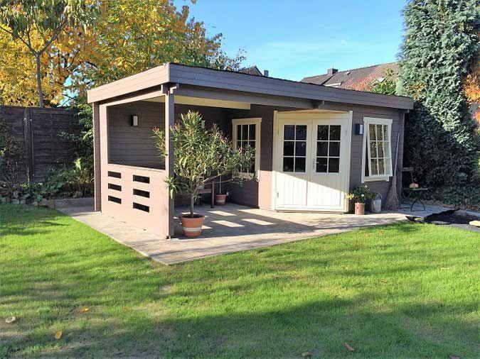 Wohnideen Gartenhaus schritt für schritt das gartenhaus 40 wird aufgebaut