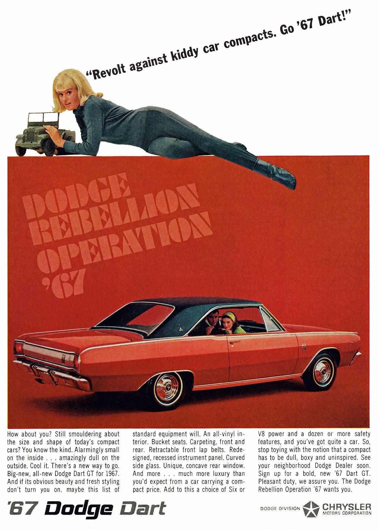 1967 Dodge Dart Dodge Dart Dodge