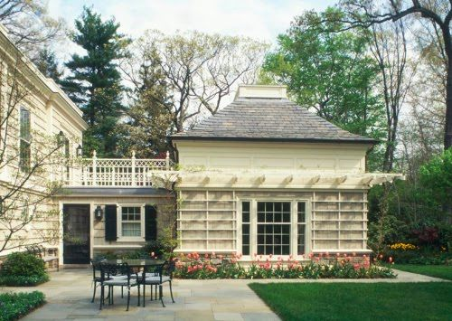 Content in a Cottage: Garage Addition w/ Breezeway ...