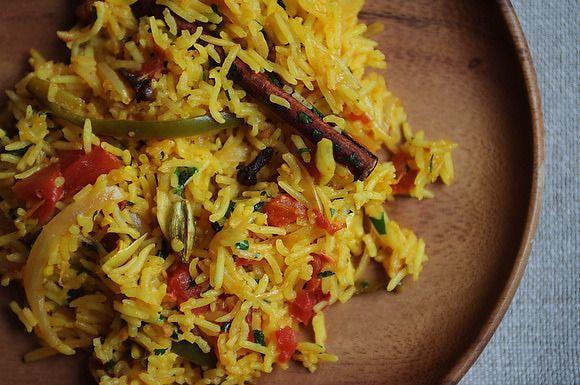 Gojee - Tomato Rice (Tamatar Biryani) by Food 52
