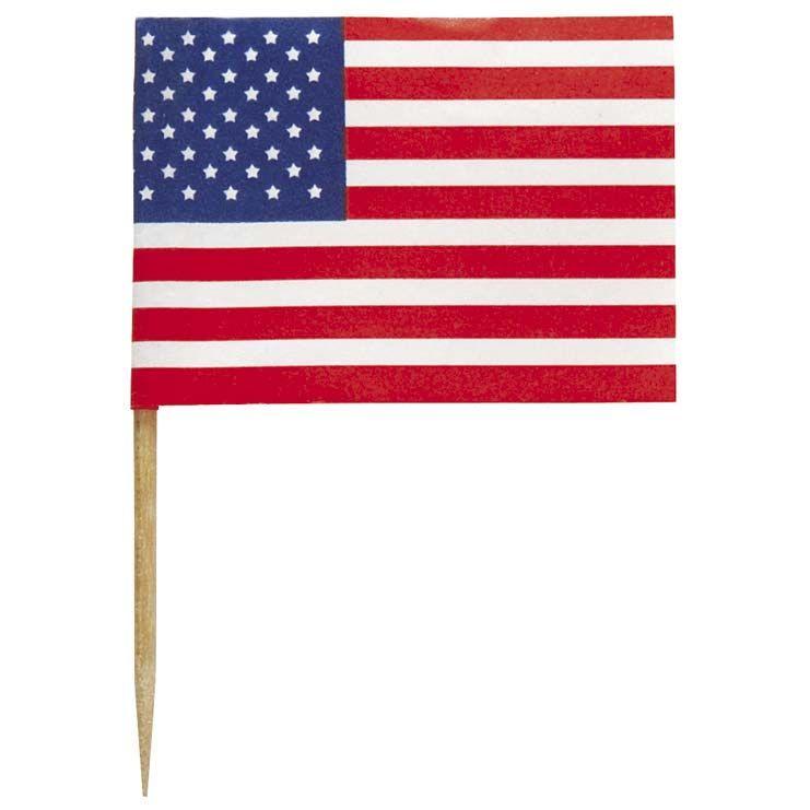 Usa Fahne, Rot Weiß Blau Und Fahnen