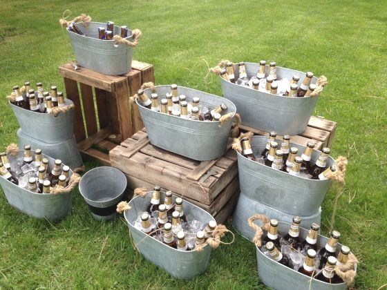 Outdoor Wedding Decoration #partybudgeting
