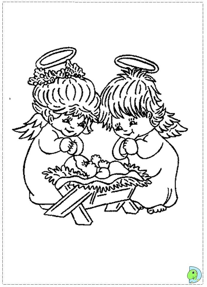christmas angel coloring Pages - Bing Images | Angel ...