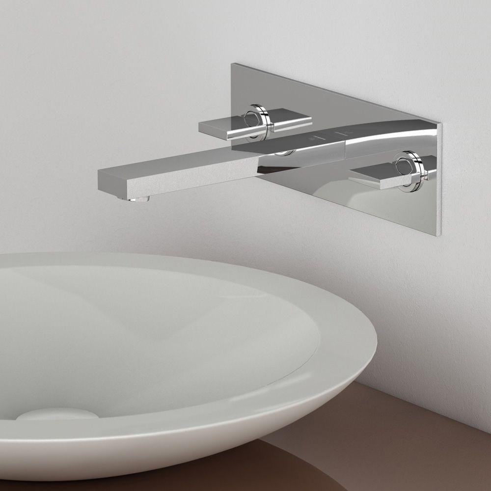 Neutra Waschbecken steinberg serie 160 3 loch waschtisch armatur zur wandmontage