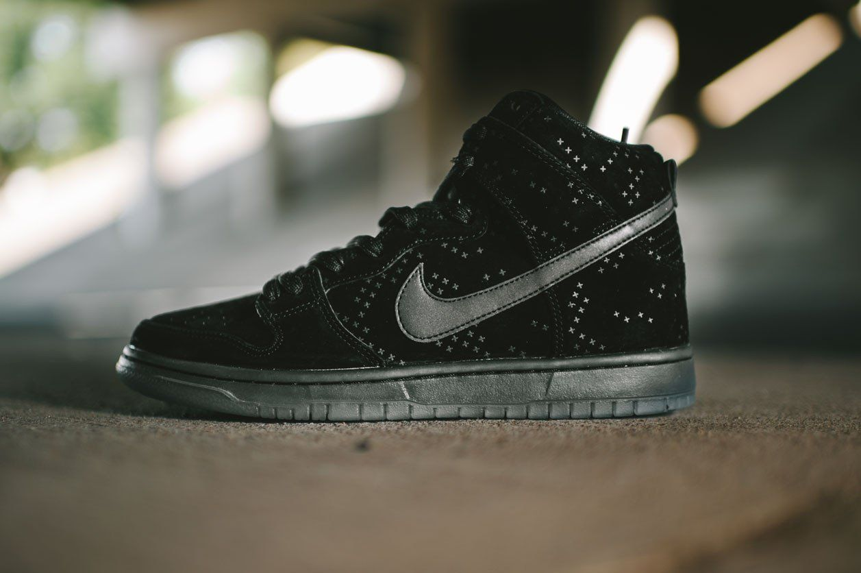 more photos 206a5 1b999 Nike Dunk High Premium Flash SB (Black Black-Clear)