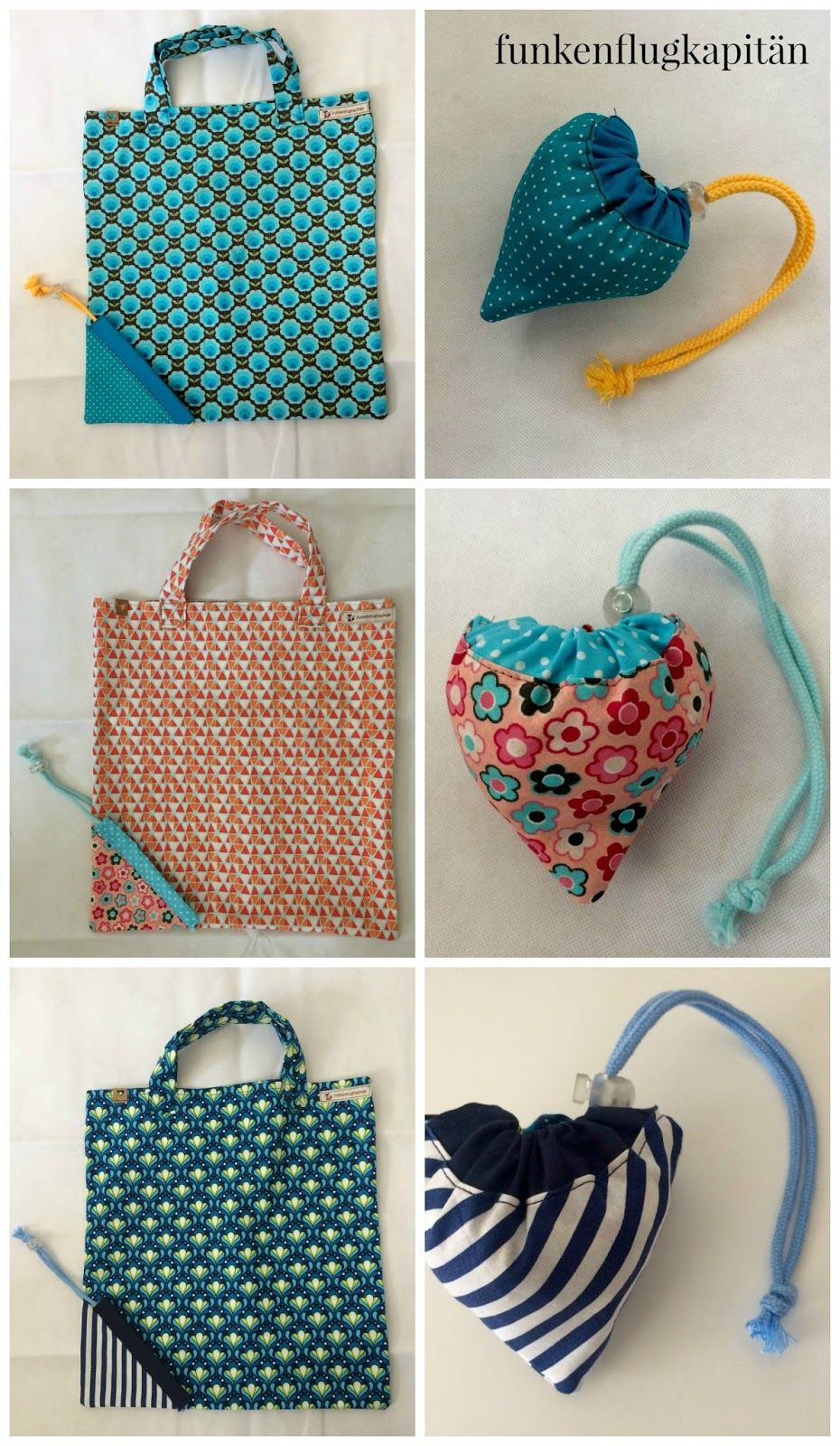 Tasche in der Tasche, Tasche, Einkaufsbeutel, Baumwolle, Nähen ...
