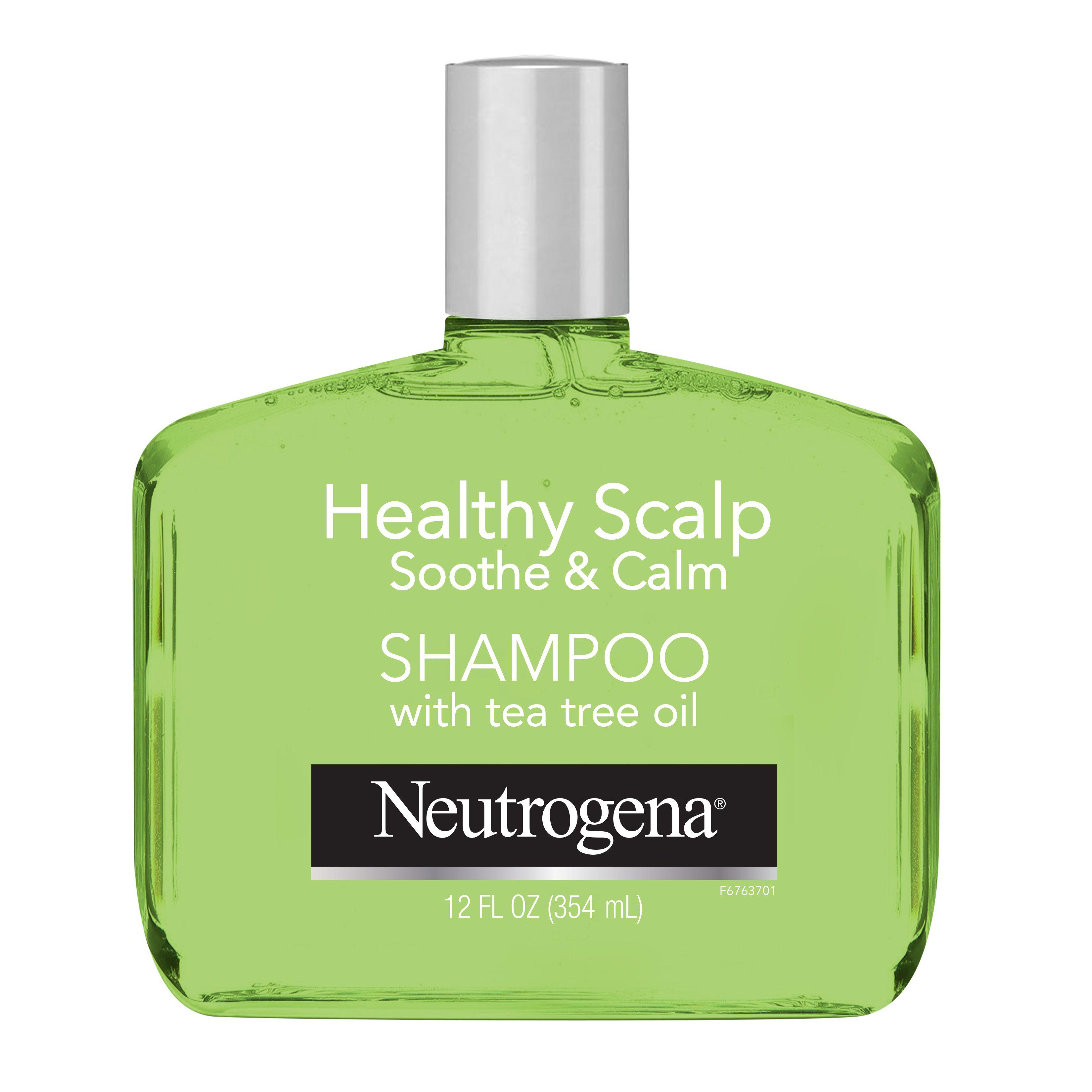 Neutrogena Tea Tree Oil Shampoo To Refresh Moisturize Dry Scalp Hair Healthy Scalp Soothe Calm Sulfate Free Surfactants Color Safe 12 Fl Oz Walmart Tea Tree Oil Shampoo Scalp