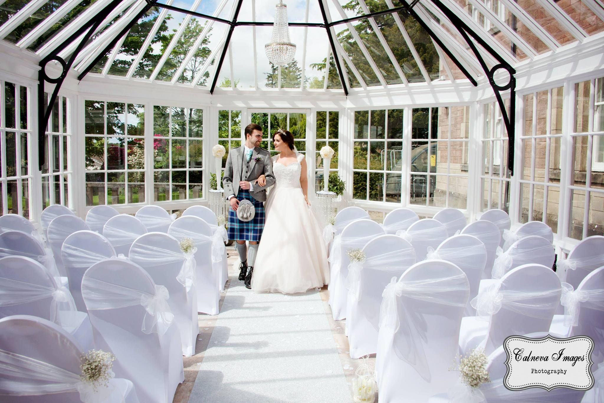 Inglewood House And Spa Conservatory Ceremony Wedding Venue In Central Scotland Clackmannanshire