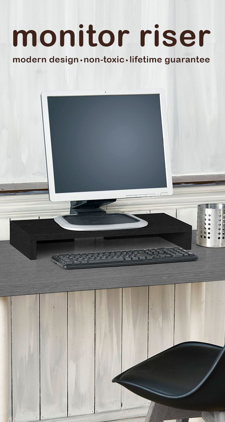 Sleek, Strong, Stylish: Way Basics Monitor Stands ...