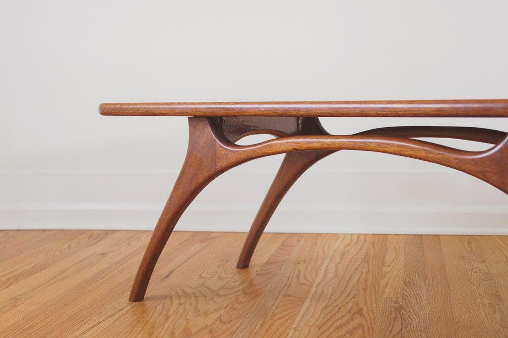 mcm teak coffee table | wakefield and teak