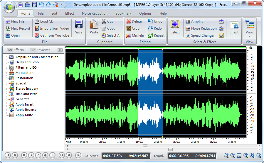 Want to obtain beautiful MP3 music from any format of