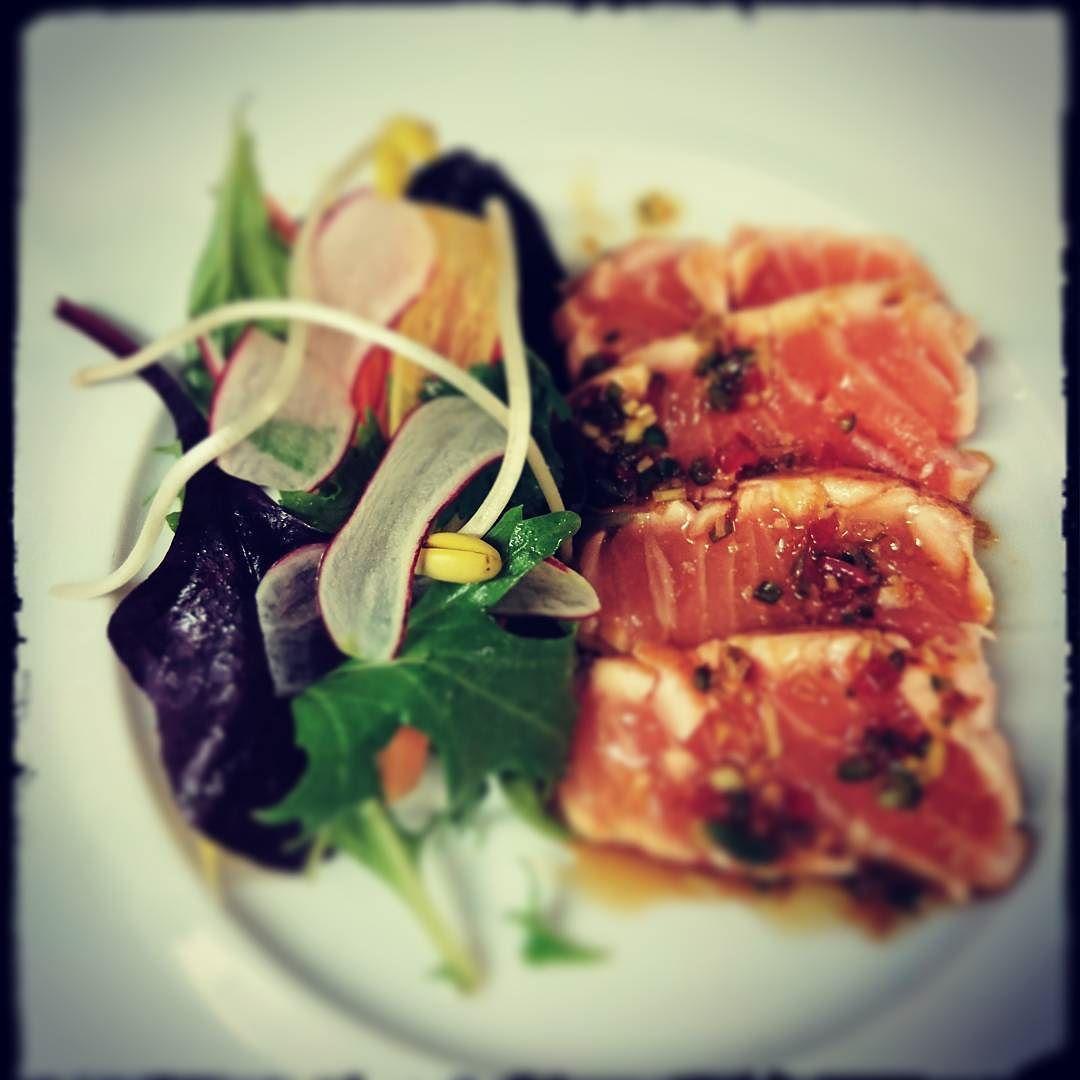 tataki de saumon #tataki #chefsofinstagram #parislife by tom_chef