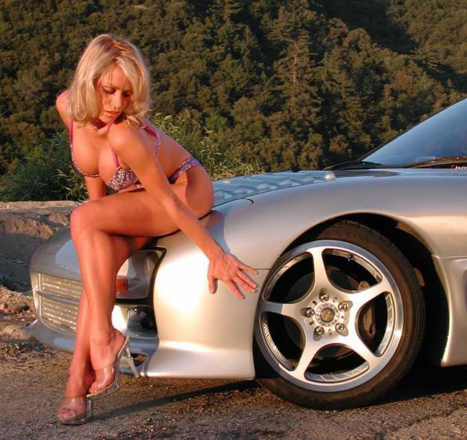 Cool cars and sexy girls