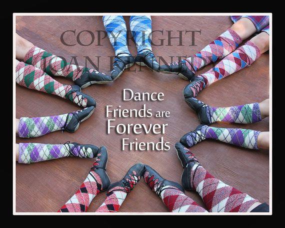 Highland Dance Friends / Feet Digital by HighlandPhotography